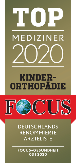 Focus Top Mediziner Kinderorthopädie