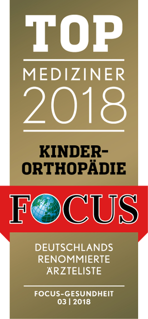 FOCUS Top Mediziner 2018 Kinderorthopädie