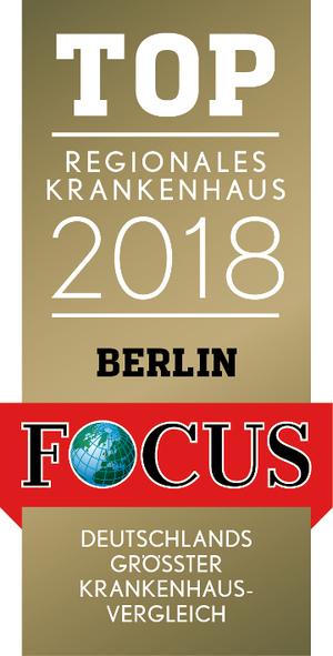 FOCUS Top Regionales Krankenhaus 2018