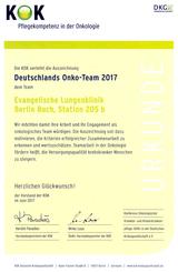 Deutschlands Onko-Team 2017