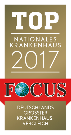 FOCUS Top Nationales Krankenhaus 2017