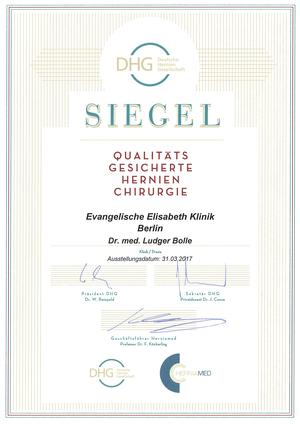 Qualitätsgesicherte Hernienchirurgie