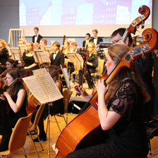 Konzert des Suffolk Youth Orchestra im Juli 2016