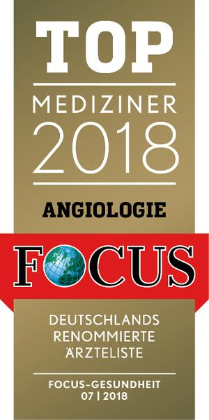 FOCUS TOP Mediziner 2018 Angiologie
