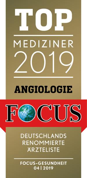 FOCUS TOP Mediziner 2019 Angiologie