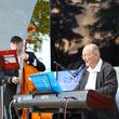 Auf der Bühne: Klaus Wüsthoff und sein Swing-Trio verleiteten mit ihren Gassenhauern die Zuschauer zum Mitsingen.