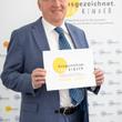 Staatssekretär Andreas Westerfellhaus bei der Videobotschaft für das Waldkrankenhaus Spandau
