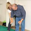 Mittendrin statt nur dabei: Bei Schnupperkursen zur Rückenschule und Qigong konnten Besucher die Angebote der Physiotherapie kennenlernen.
