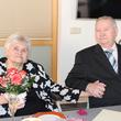 Harry und Hilde Schwochow feiern 65. Hochzeitstag. Foto: Janet Pötzsch