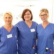 Blick hinter die Kulissen: Das Team des Evangelischen Krankenhauses Hubertus hatten große Freude daran, den vielen Interessierten ihren Arbeitsplatz vorstellen.