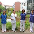 Dr. med. Liane Kändler (zweite von links) mit ihrem Team. Die Kinderkardiologin wurde bereits zum 5. Mal in Folge von der Redaktion von Focus-Gesundheit als Ärztin empfohlen und erhielt dafür eine Urkunde. Foto: Janet Pötzsch