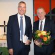 Prof. Dr. Lutz Fritsche (links im Bild), Medizinischer Vorstand der Johannesstift Diakonie, übergab die Geschäftsführung für das Paul Gerhardt Stift am Freitag offiziell an Matthias Lauterbach.