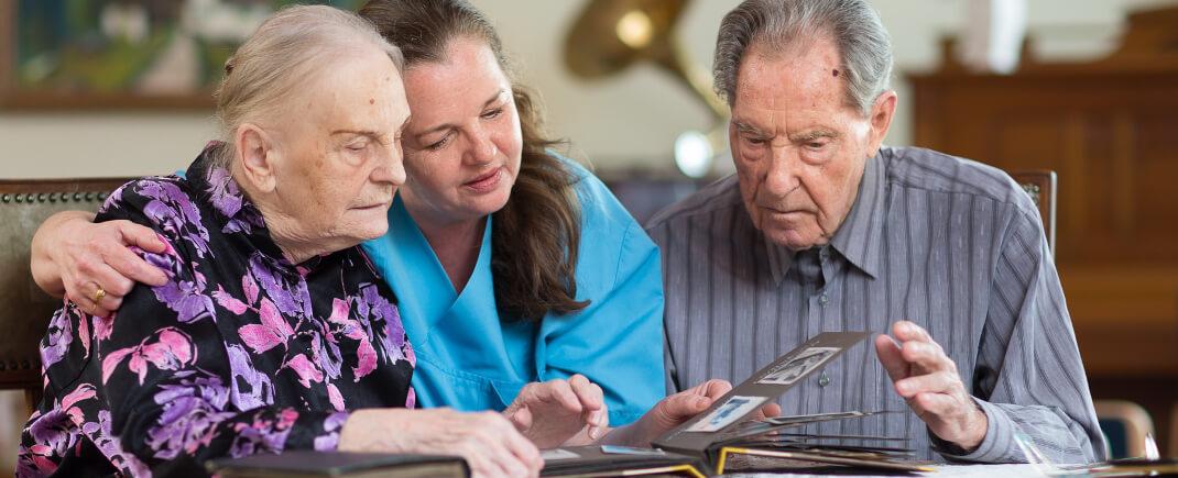 Unser Wohnbereich für Menschen mit schweren Demenzerkrankungen