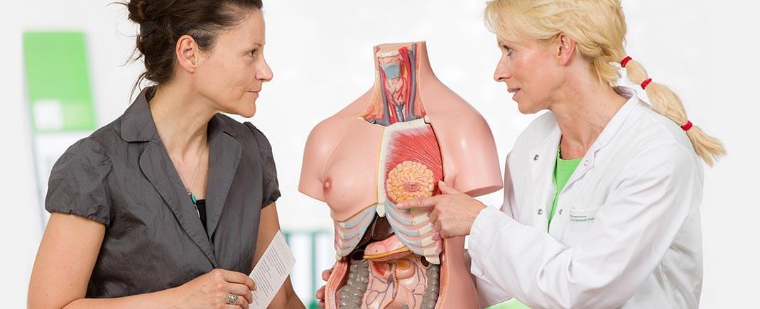 Zertifizierte Qualität in unserem Brustzentrum
