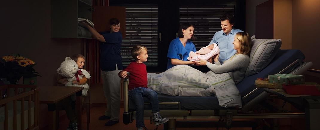 Wir schenken Halt und Geborgenheit in jeder Lebenssituation – nicht nur im Krankenhaus.