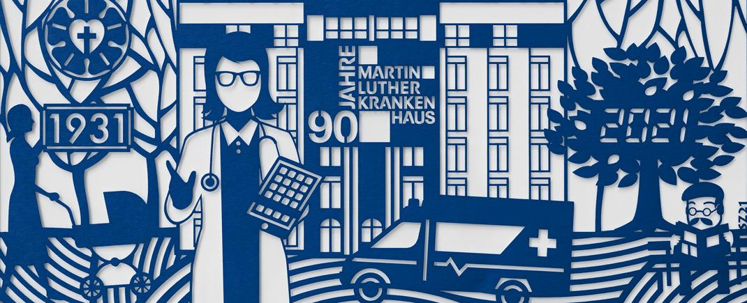 90 Jahre Martin Luther Krankenhaus