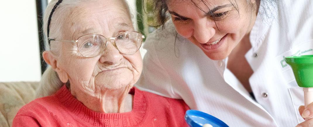 Betreuung und Pflege im Pflegewohnheim Hubertus
