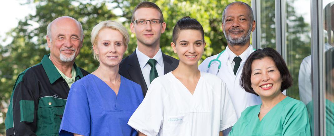 Arbeiten in der Evangelischen Lungenklinik Berlin