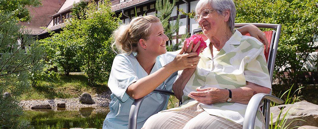 Individuelles Wohnen im Seniorenstift Barbara
