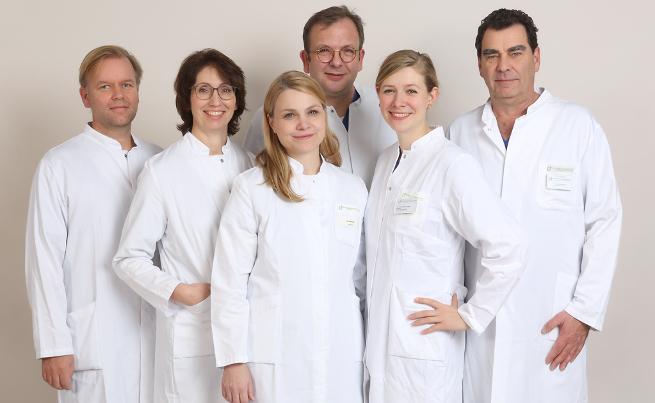 Das Team des Morbus Osler Zentrums
