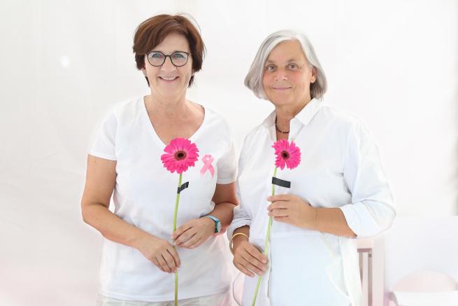 Breast Care Nurse Kerstin Wollenburg und Chefärztin Dr. med. Martina Dombrowski