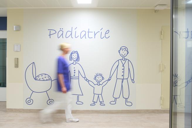 Der Wartebereich für Kinder in der neuen Zentralen Notaufnahme